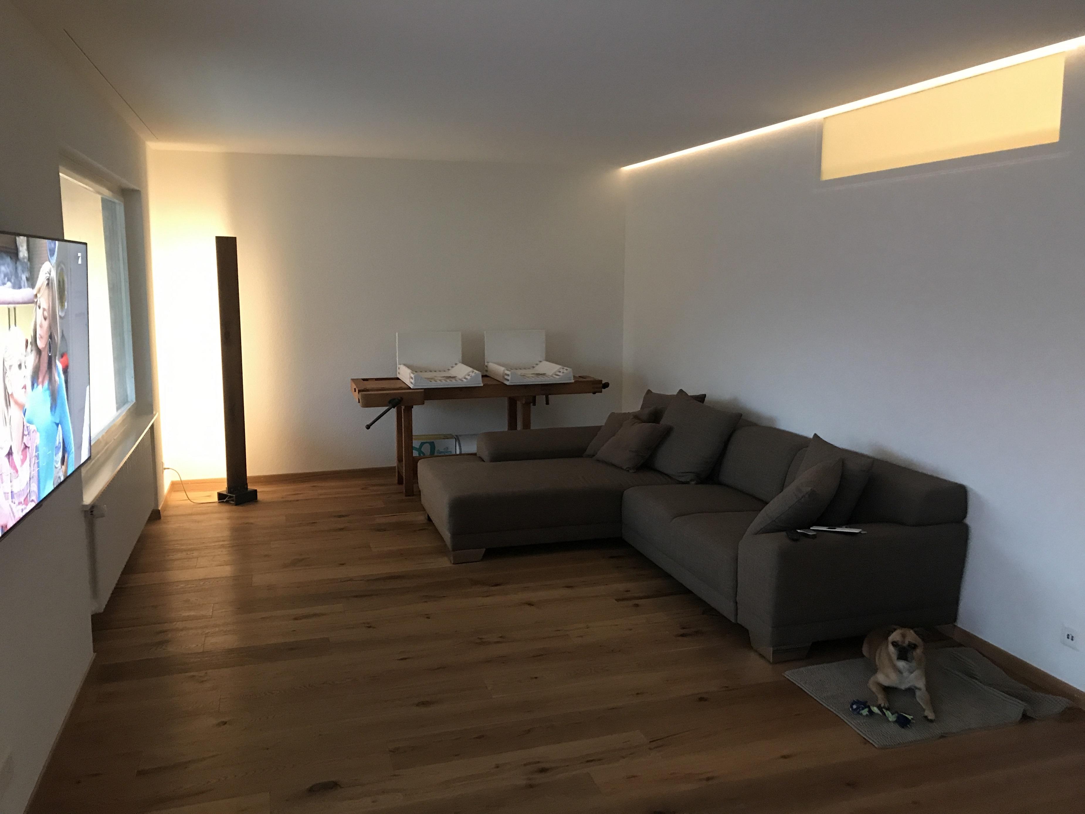 LED Beleuchtung Indirekt Wohnzimmer
