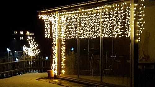 Weihnachtsbeleuchtung Moosleerau